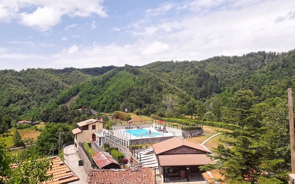 Casa Castagnola, Holiday Apartment for rent in Castagnola, Tuscany