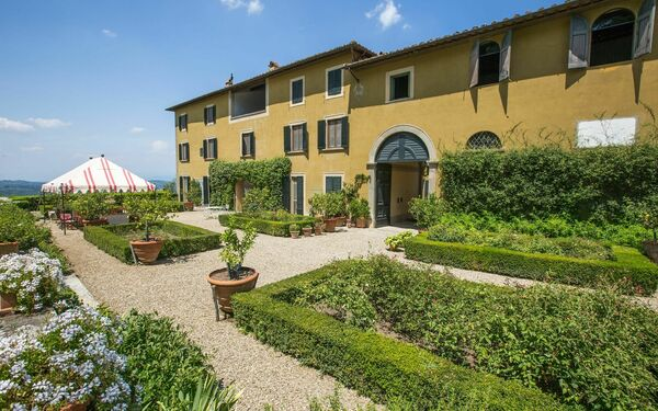 Castello Pandolfini, Villa for rent in San Polo In Chianti, Tuscany
