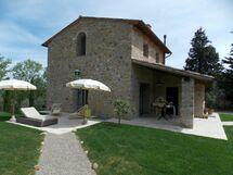 Toskánsko, Gambassi Terme, Villa Della Meletta