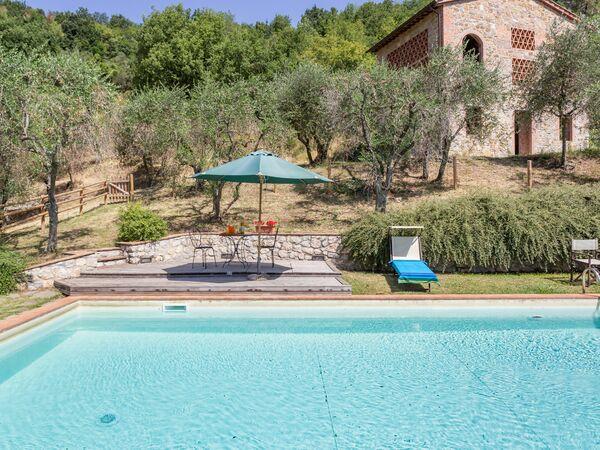 Toskánsko, San Concordio Di Moriano, Villa Dante