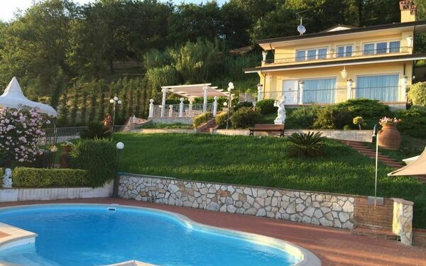 Toskánsko, Corsanico, Villa Sophia