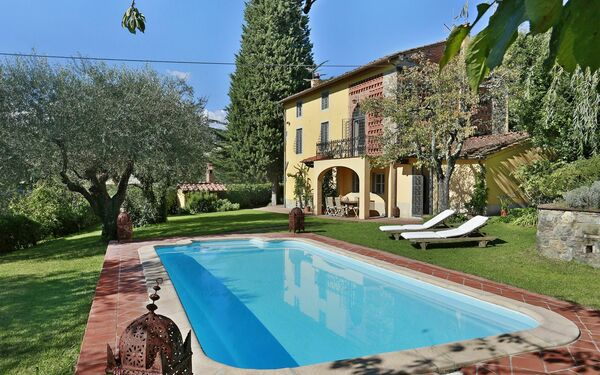 Villa Al Cincina in affitto a Segromigno In Monte