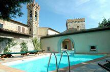 Toskánsko, Volognano, Villa Pecchioli