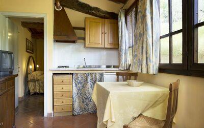 Torretta 4: Living room / Kitchen
