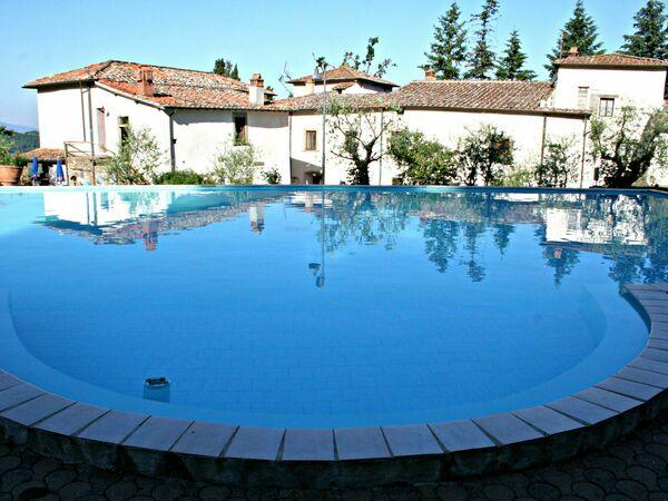 Toskánsko, Pelago, Villa Grassina