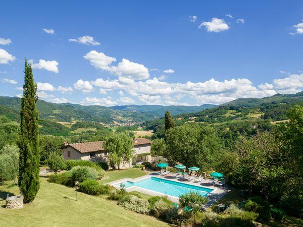 Toskánsko, Vicchio, Villa Santa Maria a Bovino