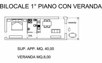 Bilocale Piano Terra 322