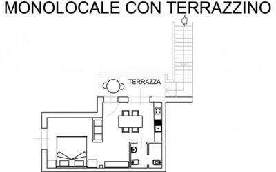 Monolocale Con Piccolo Terrazzo 111