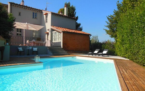 Villa La Guardia, Villa for rent in Crespina, Tuscany