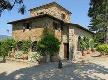 Il Cicalino, Villa for rent in Papiano, Tuscany
