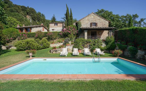 San Lorenzo, Villa for rent in Vicchio, Tuscany