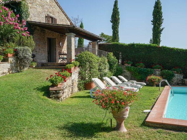 San Lorenzo, Villa for rent in Vicchio, Tuscany