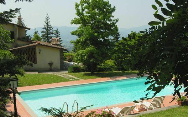 Toskánsko, Scarperia, Villa Filippo