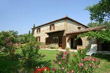Villa Villa Cortona in  Il Borgo -Toskana