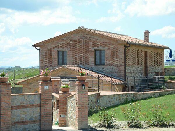 Toskánsko, Fabbrica, Villa Barbara