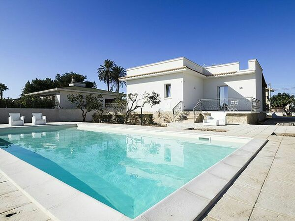 Villa Marsala, Villa for rent in Marsala, Sicily
