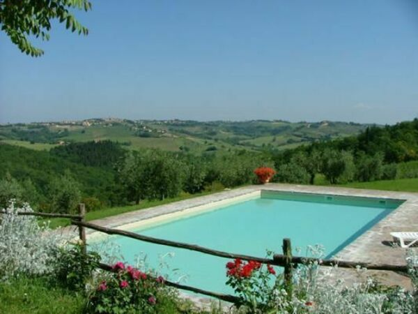 Piecorto, Apartment for rent in Poggibonsi, Tuscany