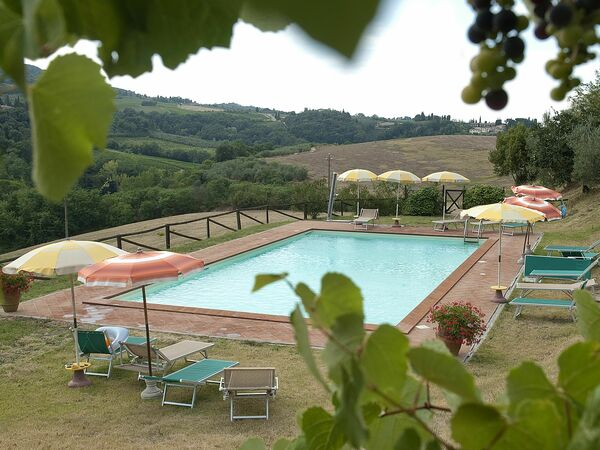 Toskánsko, San Gimignano, Agriturismo Paterno