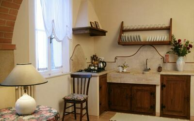 Cipresso: kitchen