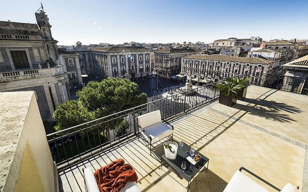 Penthouse, Holiday Apartment for rent in Catania, Sicily