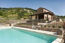 Villa Villa Fraggina in  Volterra -Toskana