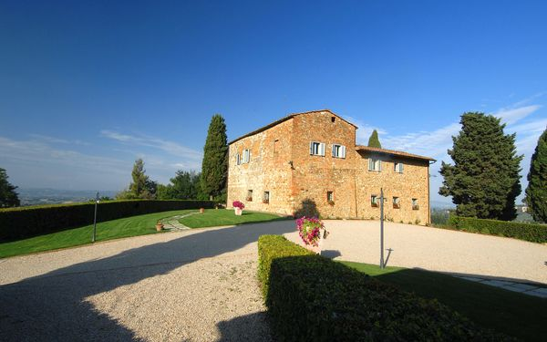 Villa Arnilù, Villa for rent in San Gimignano, Tuscany