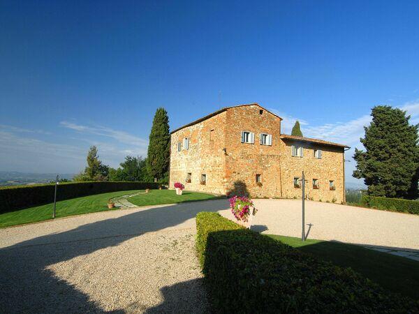 Toskánsko, San Gimignano, Villa Arnilù