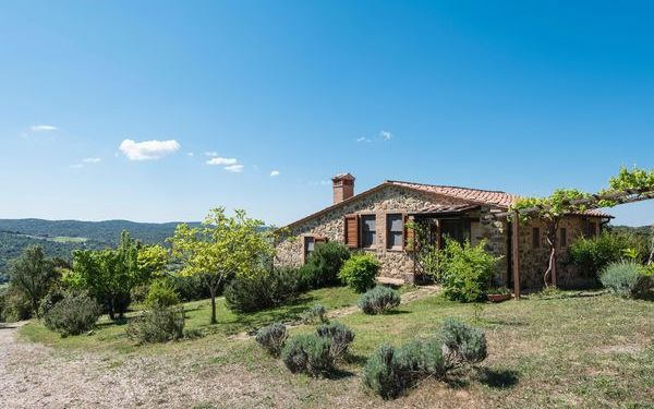 Le Solane Di Sotto, Country House for rent in Monterotondo Marittimo, Tuscany