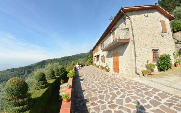 Landhaus Al Belvedere in  Petrognano -Toskana