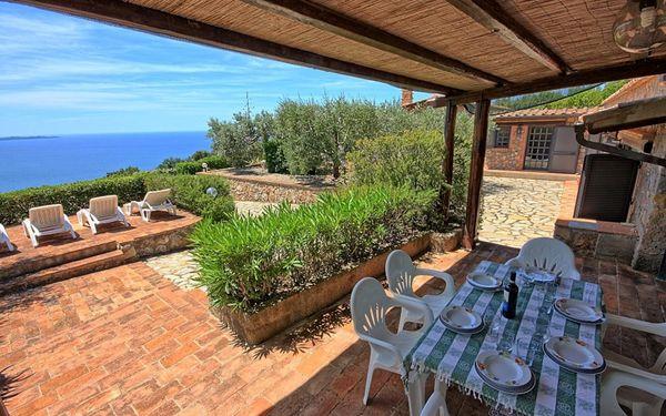 Villa Ambra, Villa for rent in Porto Santo Stefano, Tuscany