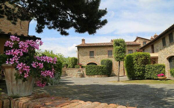 Da Santa Cristina, Country House for rent in Gambassi Terme, Tuscany