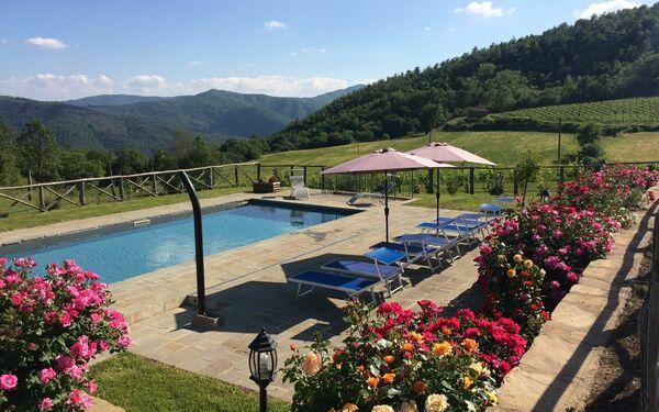 Villa Fiordaliso, Villa for rent in Poggioni, Tuscany