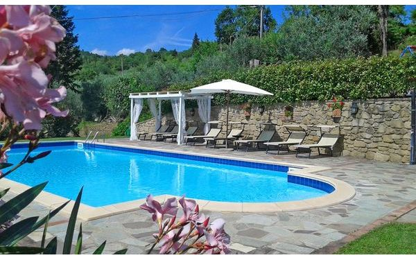 Villa Gelsomino, Villa for rent in Pergo, Tuscany