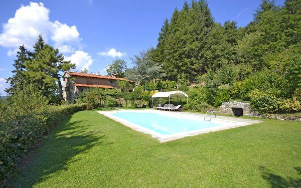 Villa Magnolia, Villa for rent in Poggioni, Tuscany