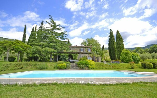 Villa Conca D'oro, Villa for rent in Pergo, Tuscany