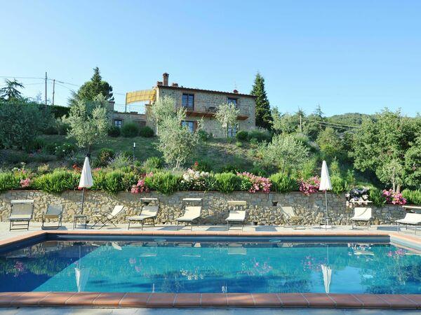 Umbrie, Lisciano Niccone, Villa Rubino