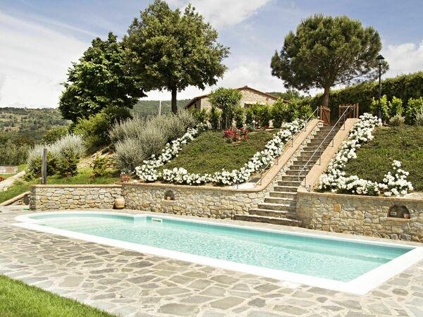 Villa Lavanda, Villa for rent in Cortona, Tuscany
