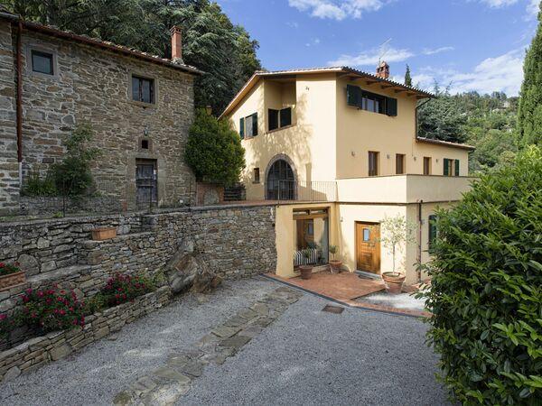 Villa Del Sole, Villa for rent in Torreone, Tuscany