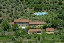 Villa Betulla, Тоскана, Terontola
