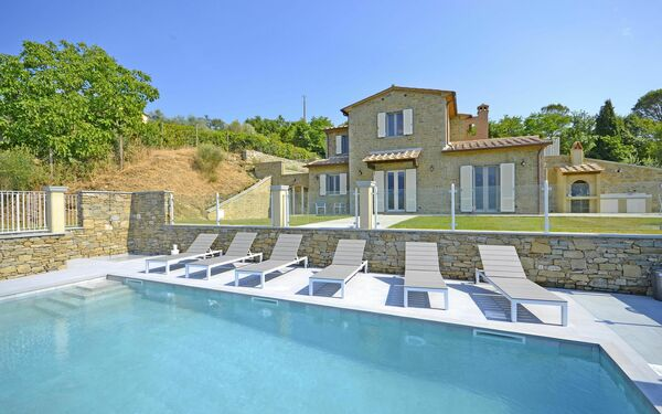 Villa Chiara, Villa for rent in Il Castagno, Tuscany