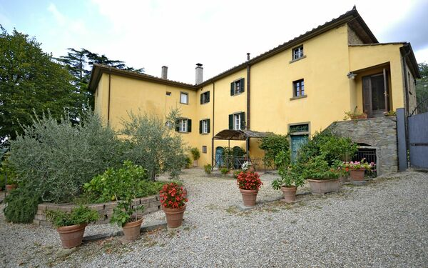 Villa Dalia, Villa for rent in Sodo, Tuscany