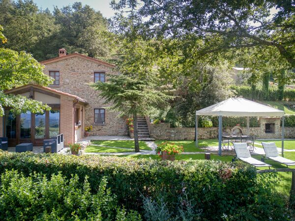 Villa Ginestra, Villa for rent in Poggioni, Tuscany