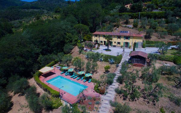 Villa Cecchini, Villa for rent in Massa e Cozzile, Tuscany