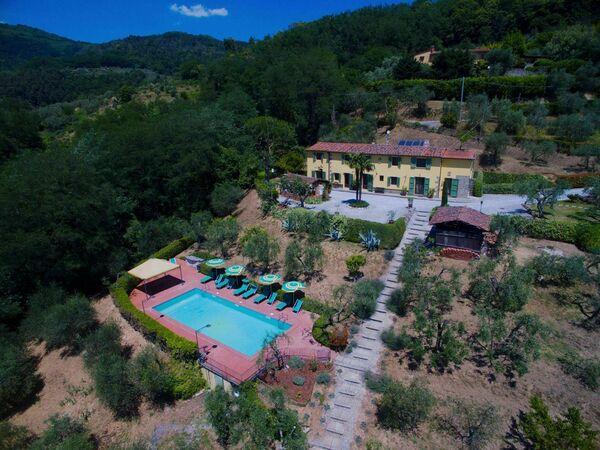 Villa Dei Cecchini Tra Massa e Cozzile, Villa for rent in Massa e Cozzile, Tuscany