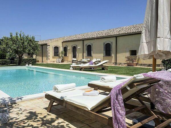 Villa Salvatore in  Syrakus -Sizilien
