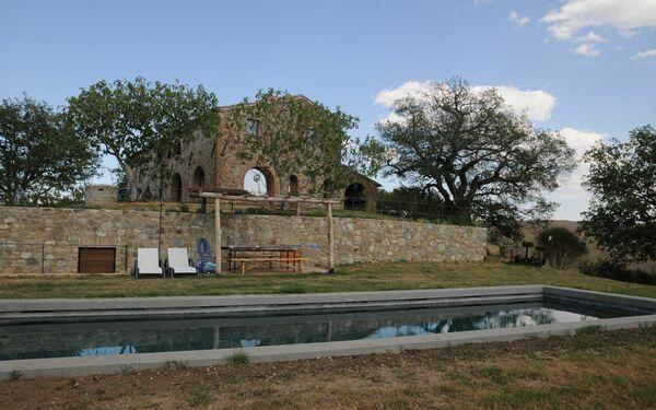Villa Podere Palazzo in affitto a Castiglione D'orcia