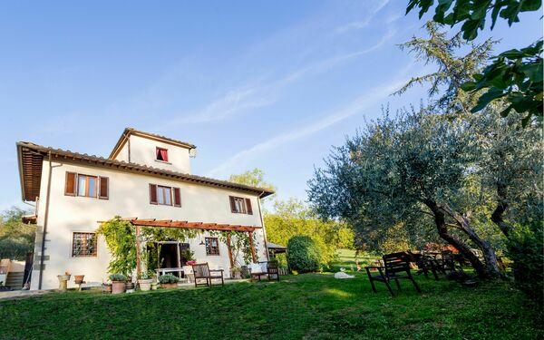 Toskánsko, Terranuova Bracciolini, Villa Marina