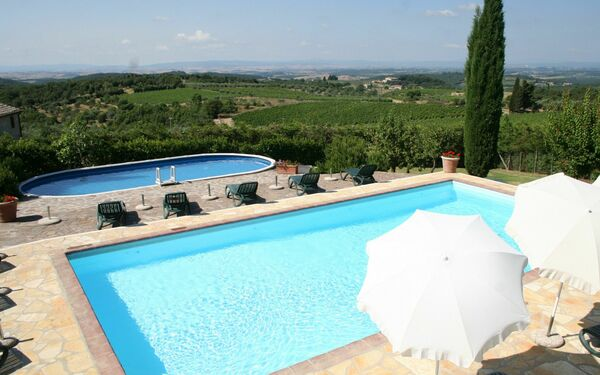 Villa Di Sotto, Country Resort for rent in Villa a Sesta, Tuscany