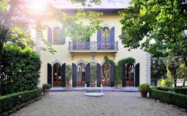 Toskánsko, Impruneta, Villa Sode