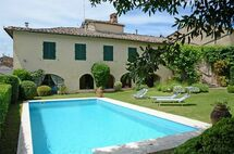 Toskánsko, Montalcinello, Villa Montalcinello